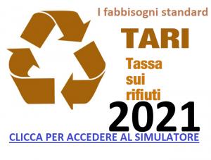 FABBISOGNI STANDARD TARI 2021: ATTENZIONE AI DATI!